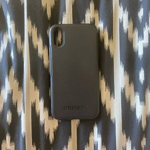 Black Otterbox Symmetry for iPhone X